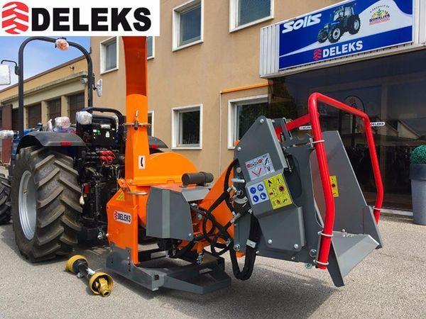 DELEKS® DK-1800 Holzhäcksler Schredder Hydrauliksystem