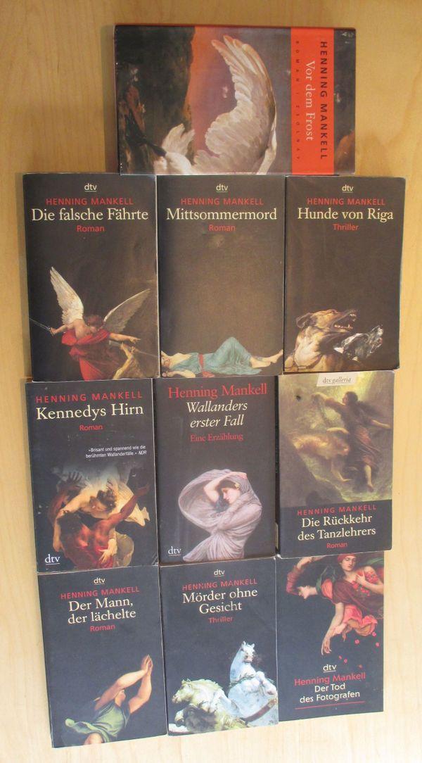 Bücher-Paket 2 von Henning Mankell -