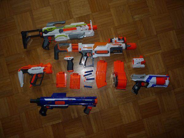 NERF Bundle N-Strike Elite Rampage