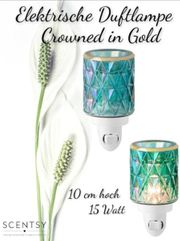 Scentsy Miniduftlampe Crowned in Gold