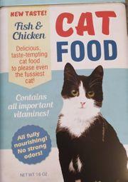 Katzenfutter-Dose