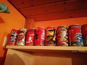 Coca Cola Sammlerdosen