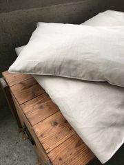 Minka 100 Leinen Bettwäsche Natur
