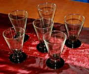 NEU - Gläser-Set - 6teilig - Glas-Konvolut - 6