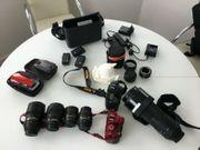 2 Nikon Kamera Ausrüstungen mit