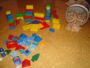 Bausteine Bauklötze aus Holz mit