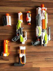 riesige Nerf Waffen Sammlung und