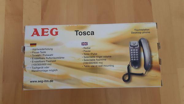 Schnurgebundenes Telefon AEG Tosca