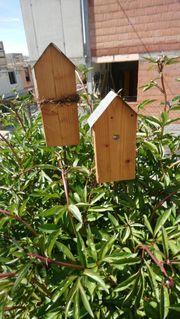 Garten Deko Vogel-Häuschen