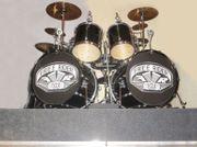 Shellset Schlagzeug 2 Bassdrum 3