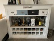 Designer Shabby Chic Bar Kommode