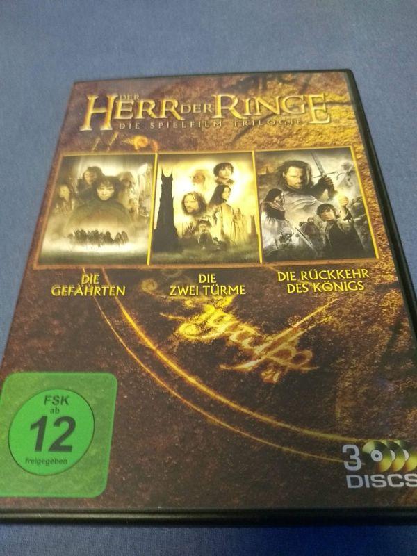 Der Herr der Ringe DVD