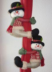 Gardinenraffhalter Weihnachts-Design