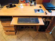 Schreibtisch Buchenachbildung wie neu