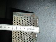 gebrauchte Kiesfangleiste Kupfer - Kupferlochblechwinkel