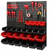 Werkzeugwand Set Werkzeughaltern mit Lochwand