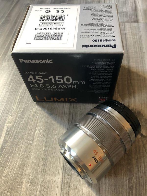 Objektiv für Panasonic-LUMIX 45-150