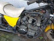 Kawasaki Z750 E als Teileträger