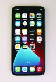 iPhone X - silber weiß