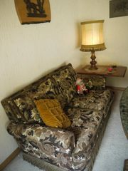 Wohnzimmer-Sitzgarnitur Brokat mit Daunen im