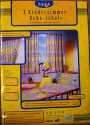 2 Stk Kinderzimmer Dekoschals Mäuse