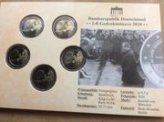 Deutschland 2 Euro Gedenkmünzen 2020