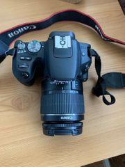 Canon EOS 200D Schwarz EF-S