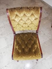 4 stilvolle Stühle