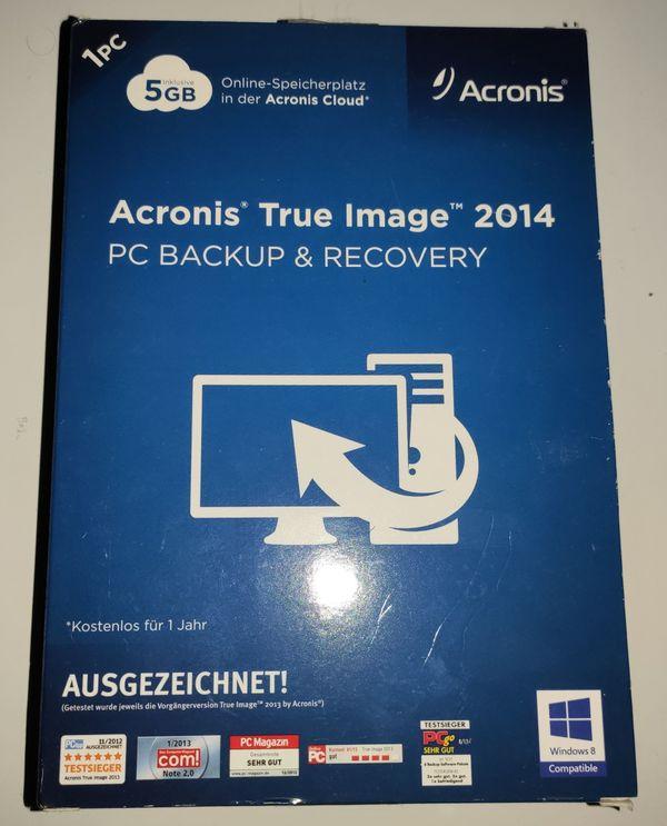 Backupsoftware - Acronis True Image Home