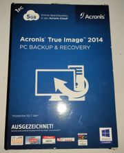 Backupsoftware - Acronis True Image Home