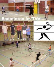 Wer mag Badminton spielen 1x
