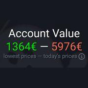 Steam account 590 Spiele Produkte