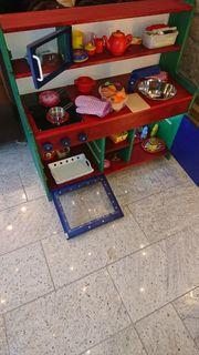 Kinderküche Spielküche Massivholz