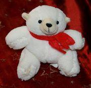 NEU - Kleiner weißer Bär - 9 cm
