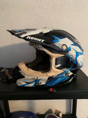 Motocross-Helm Motorradhelm Marke Kenny