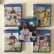 SET 5 PS4 Spiele Fifa