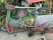 original agria 2400 Anhänger Fahrgestell