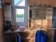 Schrank für Kellerbar mit Aufbau