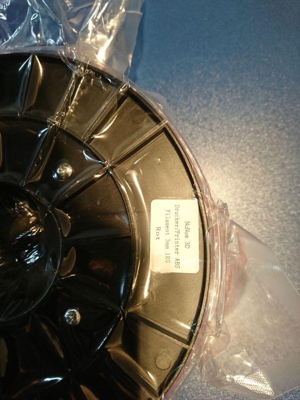 NuNus ABS 3mm Filament rot