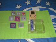 Game Boy mit Spielen