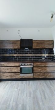 Küche neu Ausstellungsstück Makassar Luxusfurnier