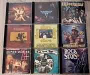 CD Sammlung Rock Oldies Van