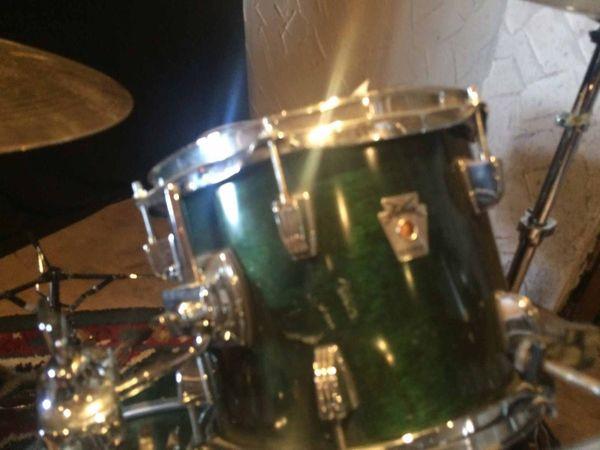 Ludwig drum set holz 1x