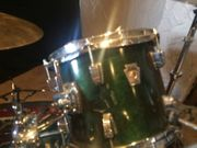 Ludwig drum set holz 1x