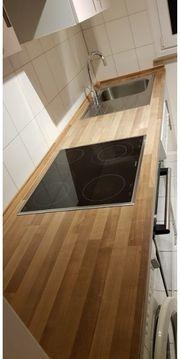 Gepflegte IKEA-Küchenschränke optional Elektrogeräte