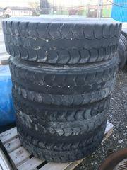 LKW Reifen mit Stahlfelgen 315