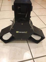 LED-Lichteffekt mit 3 Scannern - BeamZ