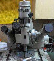 Hauser P 325 optische Koodinatenbohrmaschine