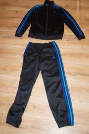 Adidas Climalite Trainingsanzug schwarz