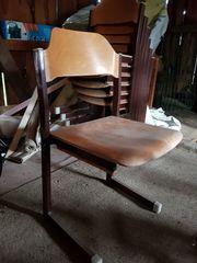 3 Stühle Holz Stuhl